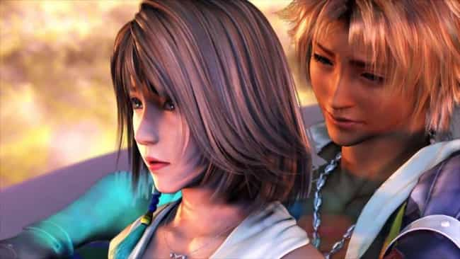 Tidus is listed (or ranked) 2 on the list The Most Memorable Video Game Deaths