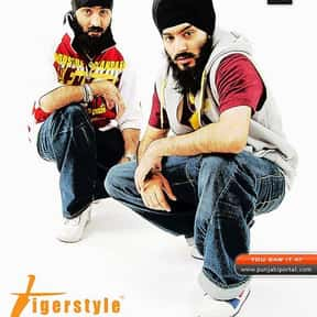 Tigerstyle is listed (or ranked) 10 on the list The Best Bhangra Singers