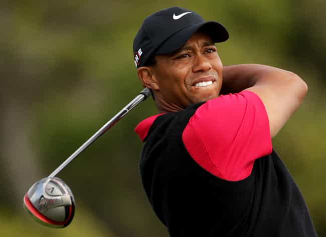Tiger Woods is listed (or ranked) 1 on the list 6 Athletes Who Were Bullied