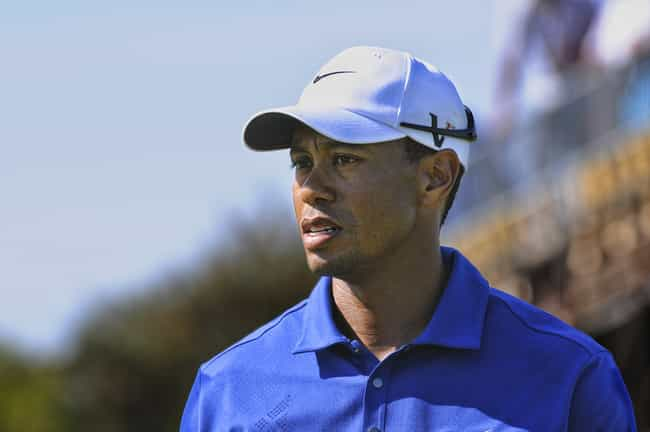 Tiger Woods is listed (or ranked) 3 on the list 35 Famous People Who Stutter