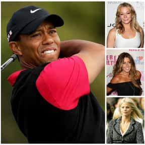 Tiger Woods is listed (or ranked) 6 on the list The Biggest Manwhores in the Entertainment Industry