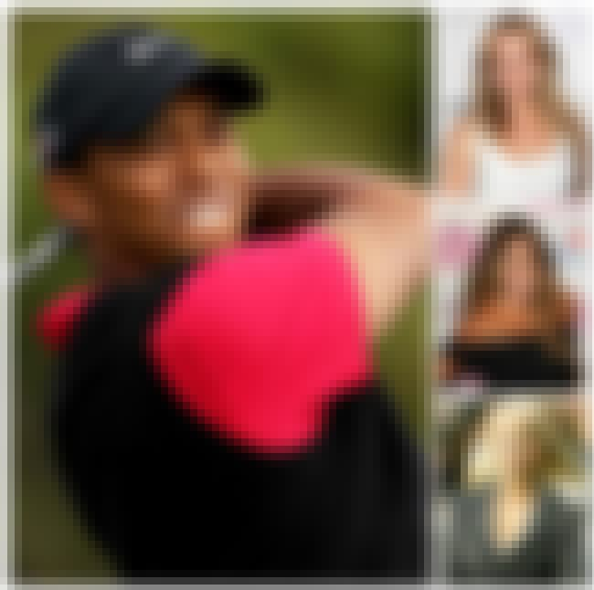 Tiger Woods is listed (or ranked) 4 on the list The Biggest Manwhores in the Entertainment Industry
