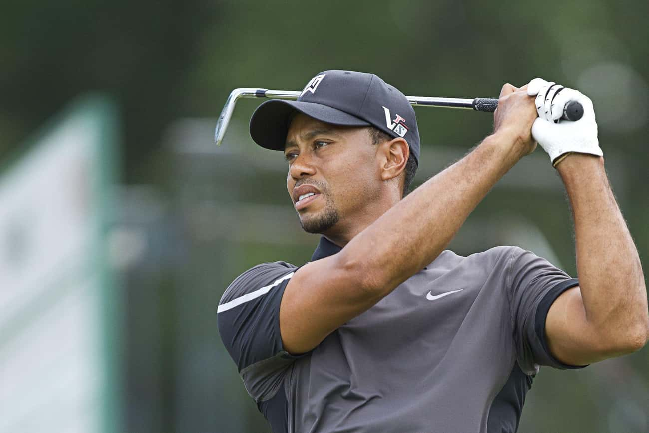 Tiger Woods is listed (or ranked) 4 on the list Celebrities Who Have Been Hacked