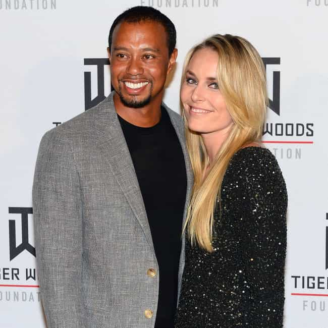 Tiger Woods is listed (or ranked) 4 on the list Lindsey Vonn Loves and Hookups