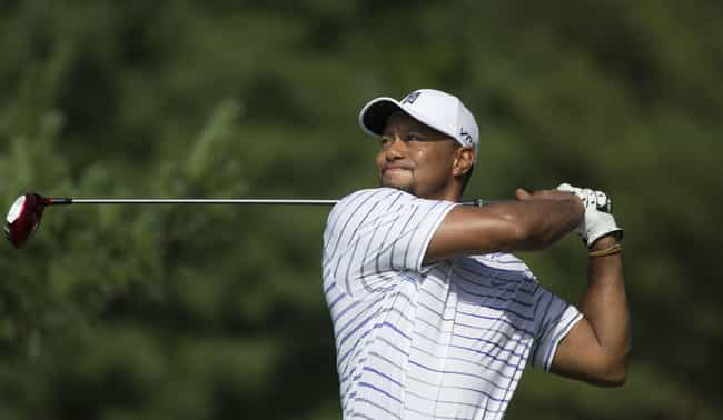 Tiger Woods is listed (or ranked) 1 on the list Athletes Who Were Sex Addicts