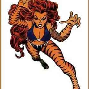 Tigra a.k.a. The Cat is listed (or ranked) 23 on the list List Of All Marvel's Avengers