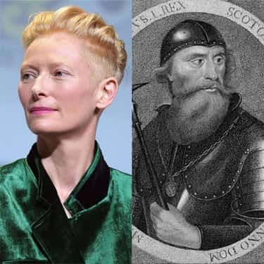 Tilda Swinton Is From One Of The Oldest Families In Scotland