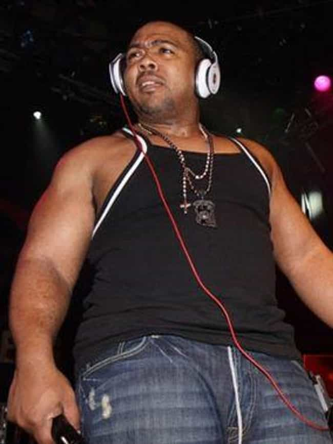 Timbaland is listed (or ranked) 8 on the list 27 Rappers Who Have Been Shot