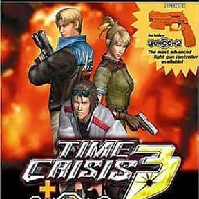 Time Crisis 3 is listed (or ranked) 1 on the list The Best Time Crisis Games