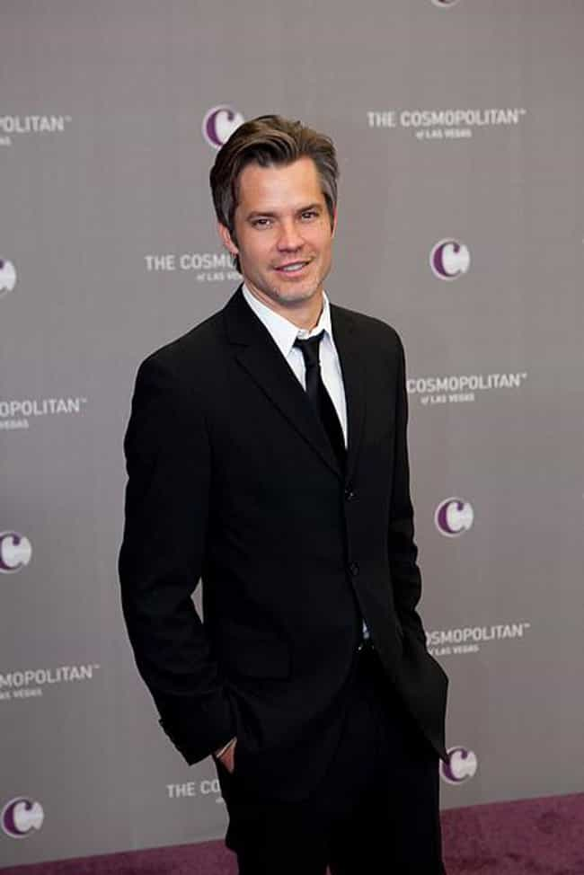 Timothy Olyphant is listed (or ranked) 3 on the list Famous People who Majored in Fine Art
