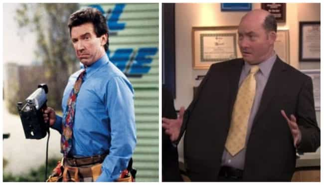 Tim Allen is listed (or ranked) 6 on the list Who Would Star In 'The Office' If It Was Made In The '90s?