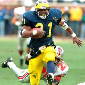 Tim Biakabutuka is listed (or ranked) 14 on the list The Best College Running Backs of the 1990s