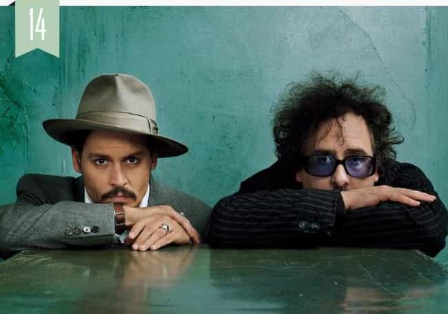 Tim Burton is listed (or ranked) 1 on the list Famous Friends of Johnny Depp