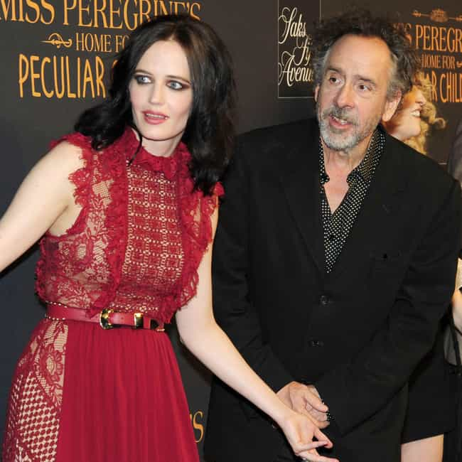 Tim Burton is listed (or ranked) 1 on the list Eva Green Loves and Hookups