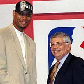 Tim Duncan is listed (or ranked) 5 on the list The Best No. 1 Overall NBA Draft Picks of All Time, Ranked