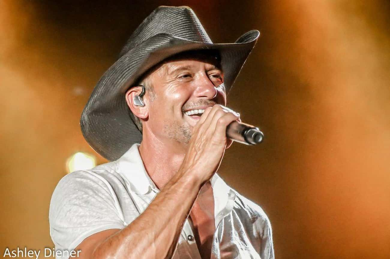 Tim McGraw is listed (or ranked) 1 on the list Celebrities Who Live In Nashville