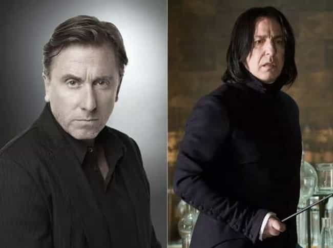 Tim Roth is listed (or ranked) 3 on the list 19 Actors Who Were Incredibly Close To Playing Harry Potter Characters