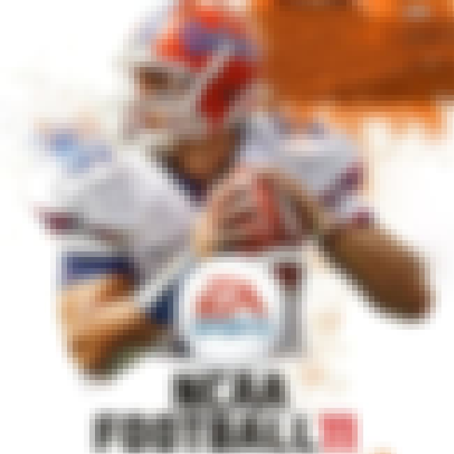 Tim Tebow is listed (or ranked) 5 on the list NCAA Football Cover Athletes
