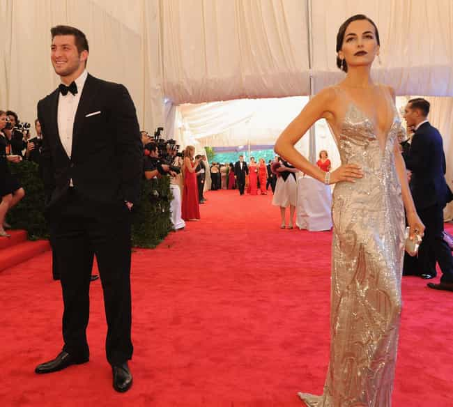 Tim Tebow is listed (or ranked) 2 on the list Camilla Belle Loves and Hookups