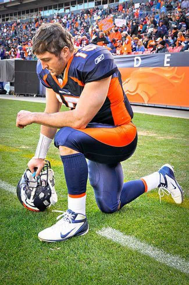 Tim Tebow is listed (or ranked) 1 on the list The Most Famous Homeschooled Athletes