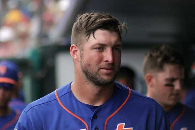 Tim Tebow is listed (or ranked) 3 on the list 17 Male Athletes Who Model