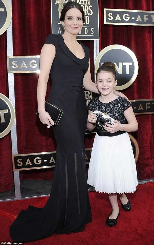 Tina Fey is listed (or ranked) 3 on the list Celebrities Who Took Their Kids to Awards Shows