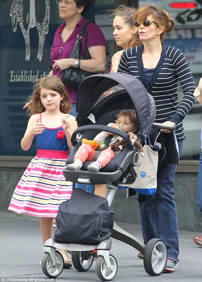 Tina Fey is listed (or ranked) 3 on the list 15 Famous Moms Who Only Have Daughters