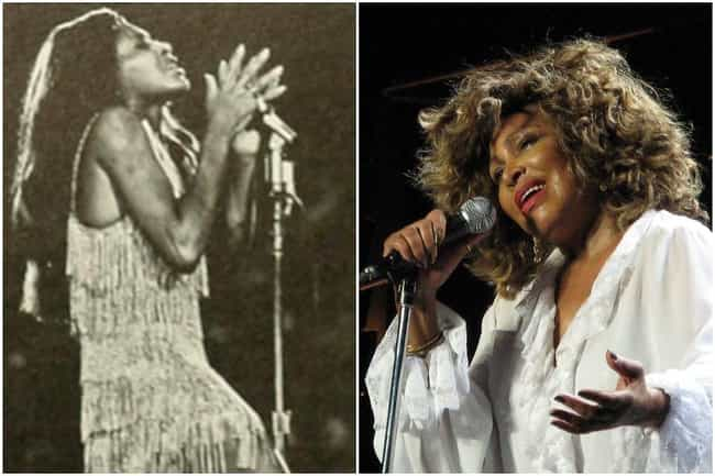 Tina Turner is listed (or ranked) 2 on the list What Famous Singers Looked Like At The Beginning And The End Of Their Careers