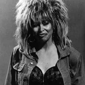 Tina Turner is listed (or ranked) 25 on the list The Greatest Dancing Singers