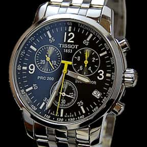 Tissot is listed (or ranked) 10 on the list The Best Watch Brands