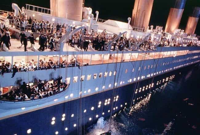 Titanic is listed (or ranked) 1 on the list Cool Details From Our Favorite Movies That Made Us Say, 'Damn, That's Interesting'