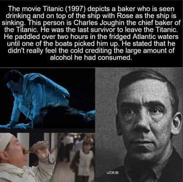 Titanic is listed (or ranked) 2 on the list 21 Pretty Cool Movie Details We Found This Week