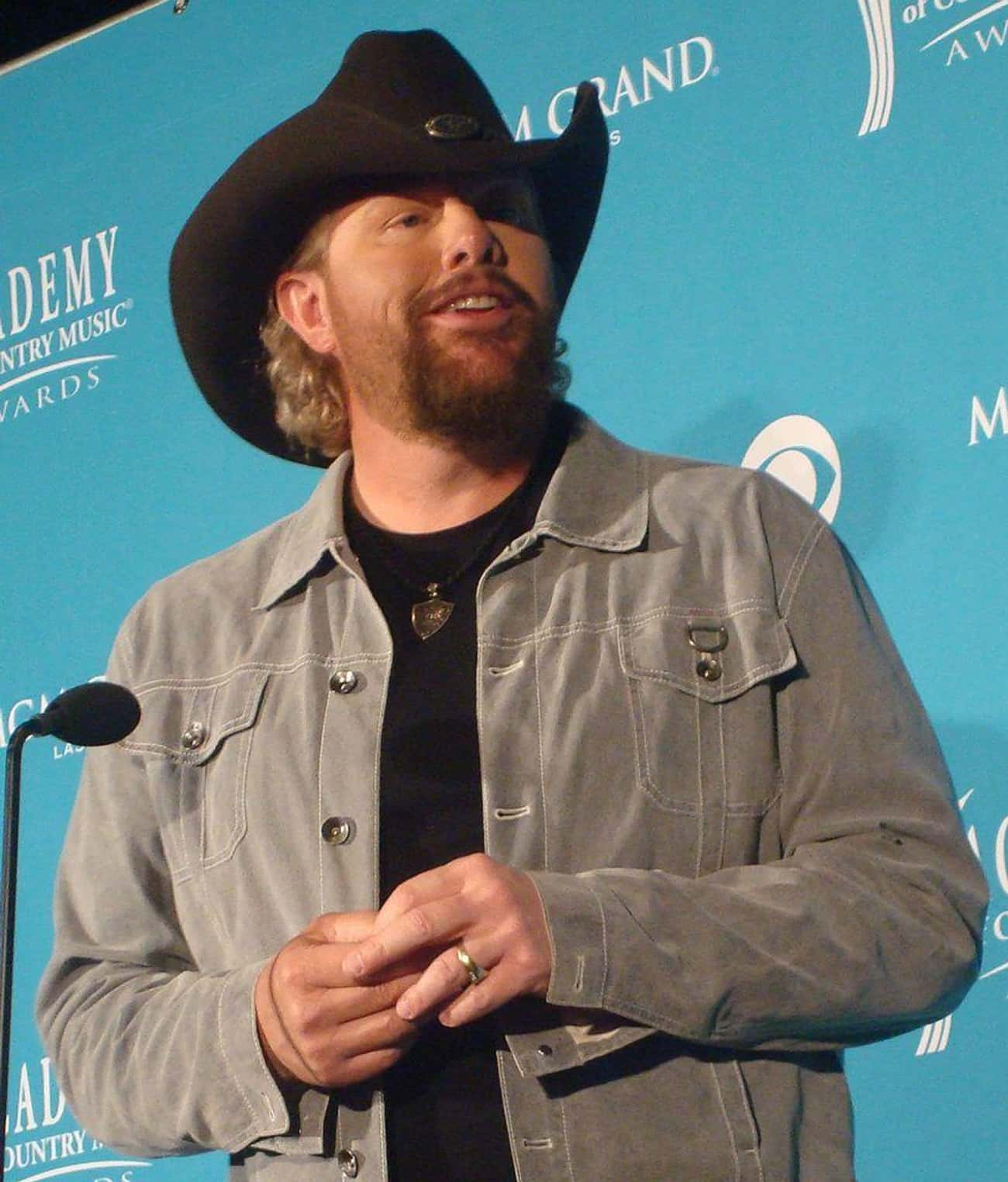 Toby Keith is listed (or ranked) 3 on the list 75+ Famous Singers Who Are Cancers