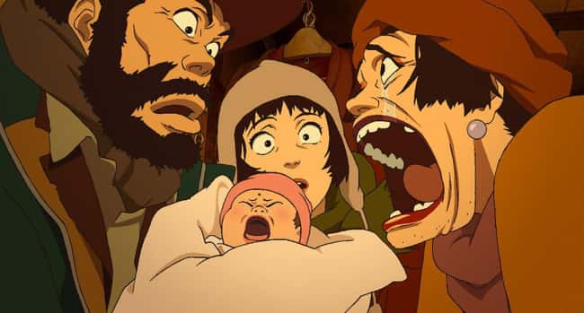 Tokyo Godfathers is listed (or ranked) 12 on the list The 15 Best Japanese Animated Films That Aren't Studio Ghibli