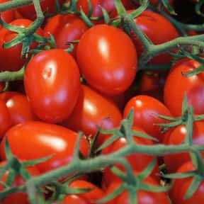 Tomato is listed (or ranked) 11 on the list Vegetables That Are Technically Fruits