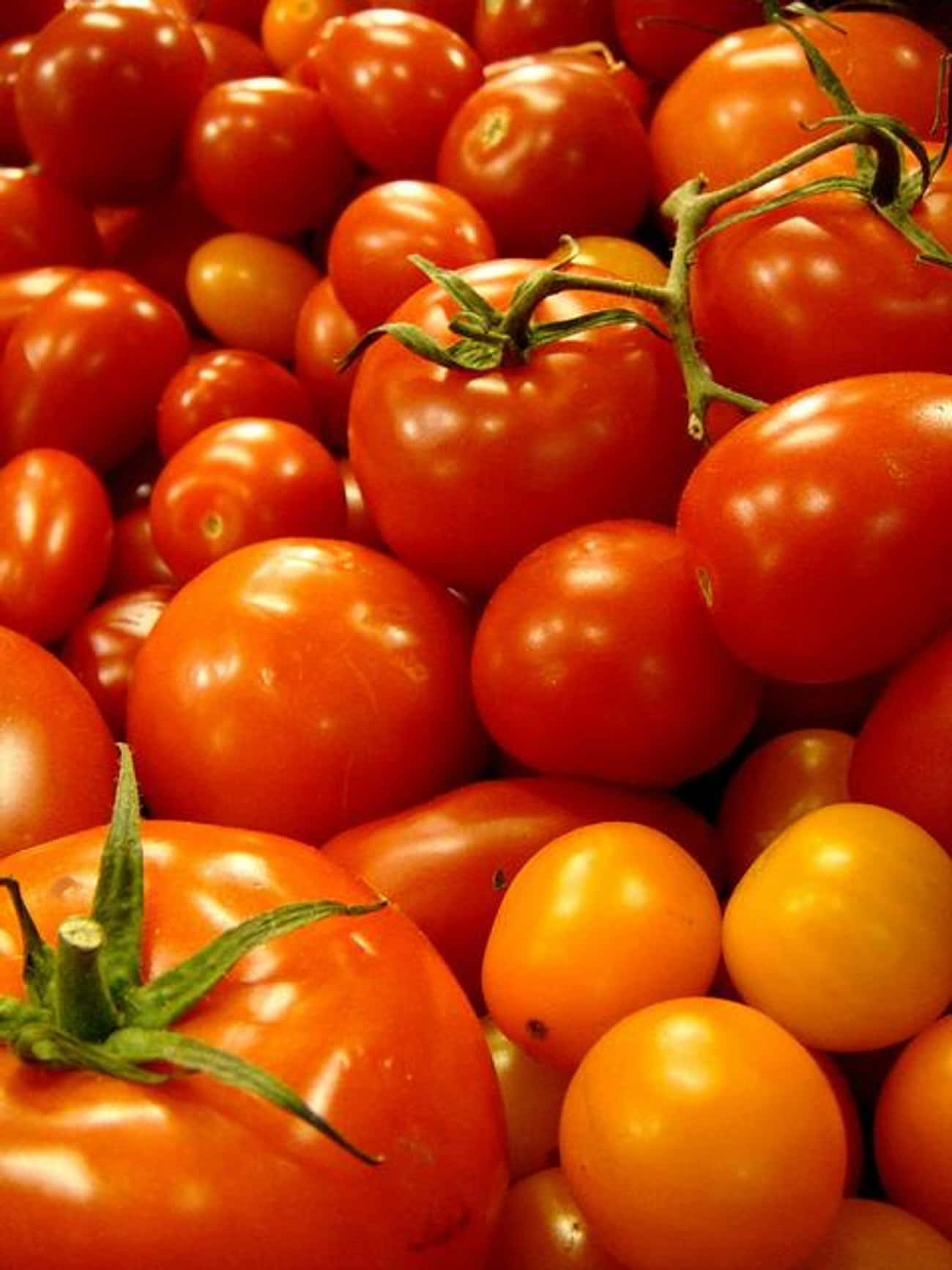 Tomatoes can interfere with yo is listed (or ranked) 4 on the list Harsh Truths About Healthy Foods and What You Can Do About It