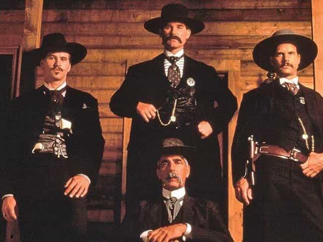 Tombstone is listed (or ranked) 3 on the list 12 Movies That Were More Than Likely Ghost-Directed