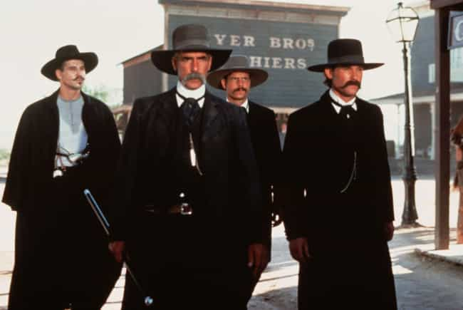 Tombstone is listed (or ranked) 1 on the list Wild West Movies That Are Probably More Fun Than Going Out On A Friday Night