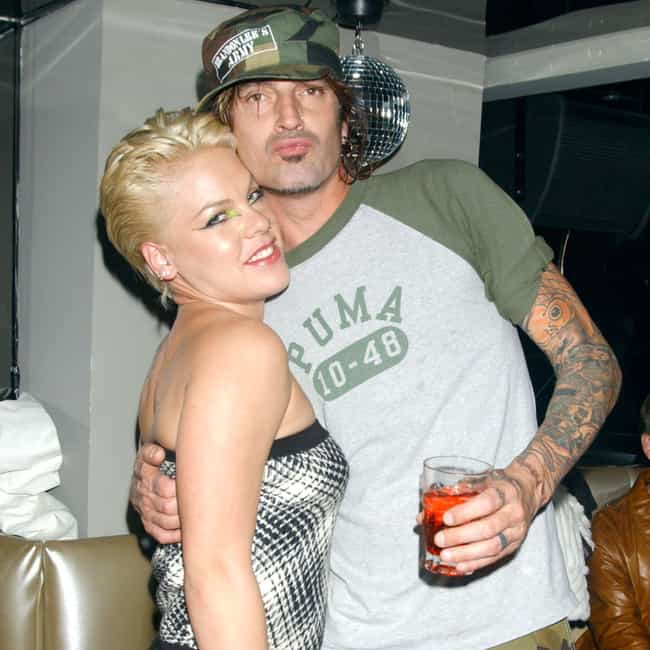 Tommy Lee is listed (or ranked) 3 on the list Pink Loves and Hookups