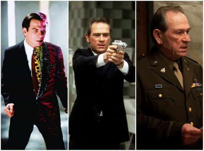 Tommy Lee Jones is listed (or ranked) 3 on the list Actors Who've Played Multiple Comic Characters
