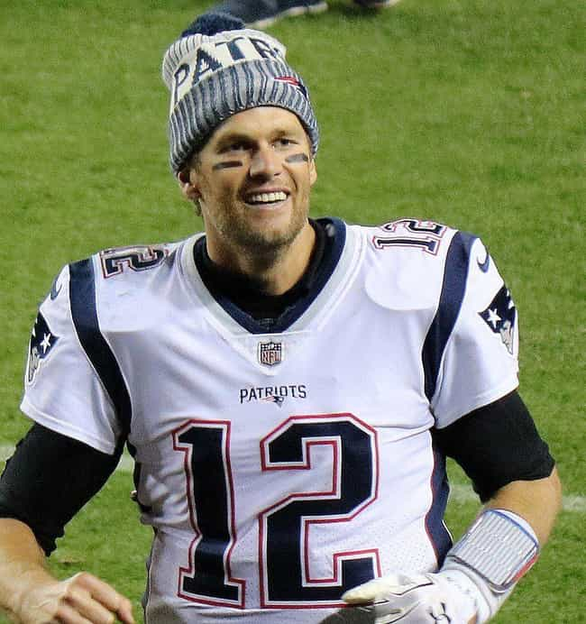 Tom Brady is listed (or ranked) 1 on the list 7 Athletes Who Are Pilots