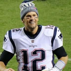 Tom Brady is listed (or ranked) 7 on the list The Best Football Players Ever