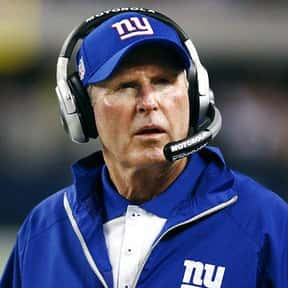 Tom Coughlin is listed (or ranked) 25 on the list The Best New York Giants of All Time