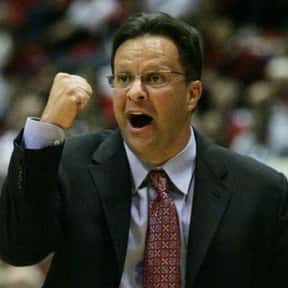 Tom Crean is listed (or ranked) 18 on the list The Most High Strung Coaches in College Sports