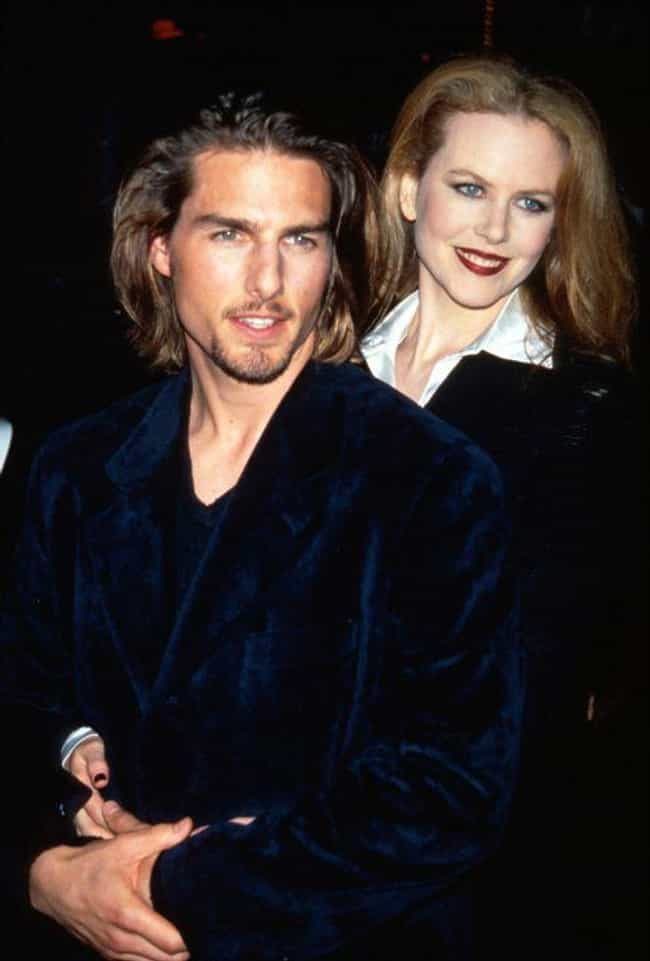 Tom Cruise is listed (or ranked) 2 on the list Celebrity Couples Where the Woman Is Taller