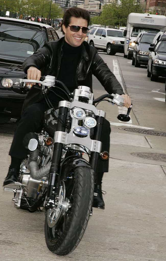 Tom Cruise is listed (or ranked) 1 on the list Celebrities Who Own Motorcycles