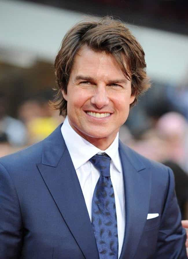 Tom Cruise is listed (or ranked) 1 on the list 20 Famous Single Dads