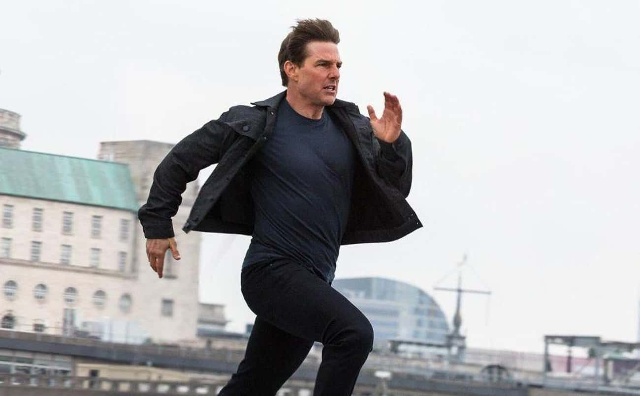Tom Cruise Runs is listed (or ranked) 4 on the list Actors' And Actresses' Signature On-Screen Moves