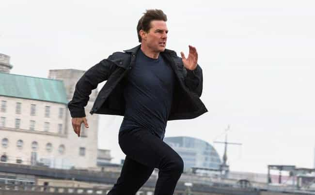 Tom Cruise is listed (or ranked) 4 on the list Actors' And Actresses' Signature On-Screen Moves