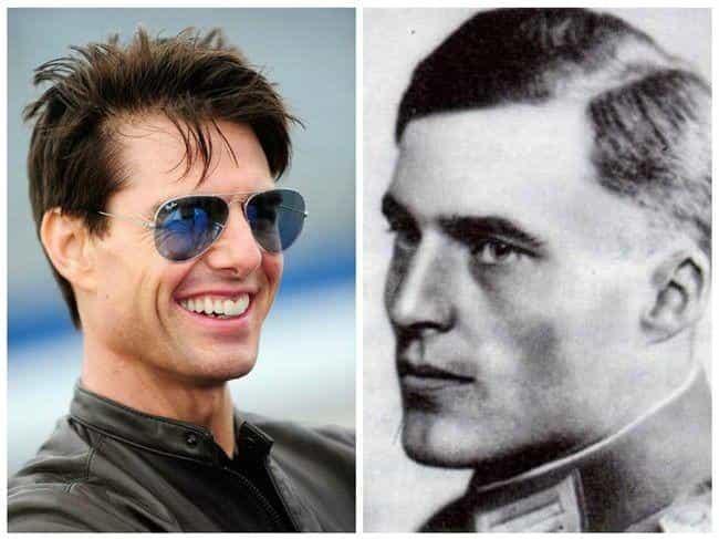 Tom Cruise as Colonel Claus Von Stauffenberg